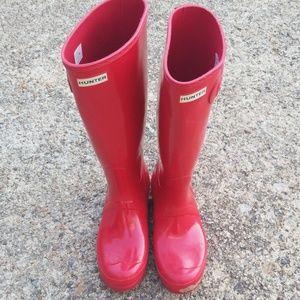 Hunter Boots EUC!!